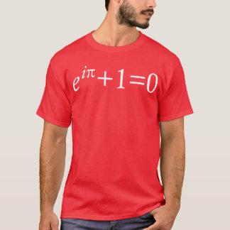 T-shirt da identidade de Euler Camiseta