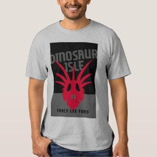 T-shirt da ilha do dinossauro