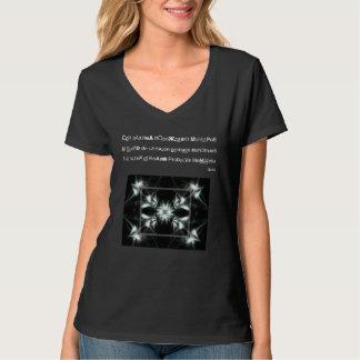 T-shirt da iluminação camiseta