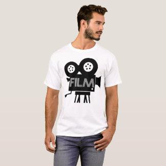 T-shirt da ilustração do filme camiseta