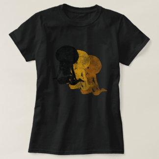 t-shirt da irmã da alma do funk da música dos anos