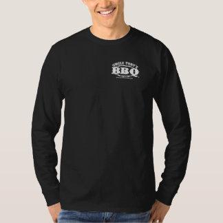 T-shirt da luva de Competição CHURRASCO Longo do Camiseta