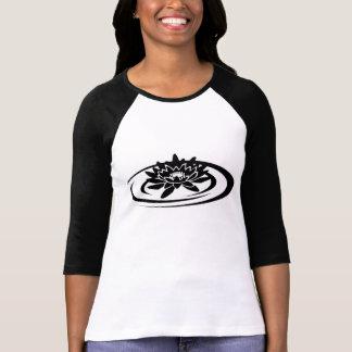 T-shirt da luva de Raglan das mulheres de Camiseta