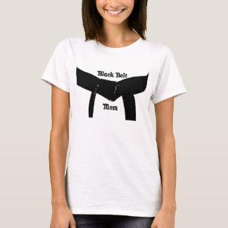T-shirt da mamã do cinturão negro das artes camiseta