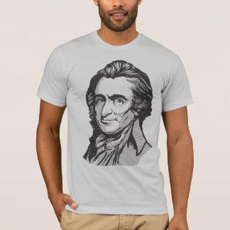 T-shirt da matriz de ponto de Thomas Paine Camiseta