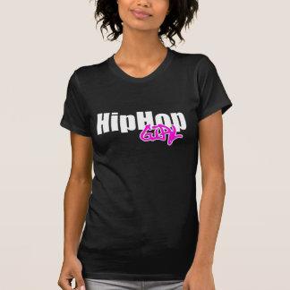 T-shirt da menina de Hip Hop