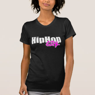 T-shirt da menina de Hip Hop Camiseta