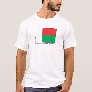 T-shirt da missão de Madagascar Antananarivo LDS Camiseta