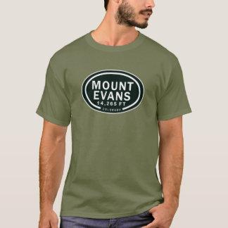 T-shirt da montanha de Evans 14.265 FT CO da Camiseta