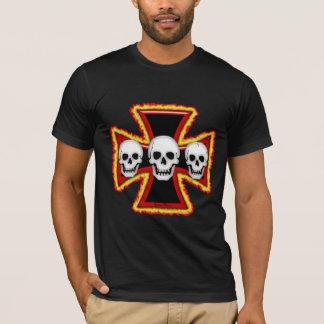 T-shirt da morte do ferro camiseta