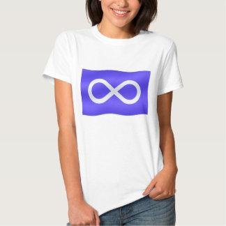 T-shirt da nação da camiseta das mulheres da