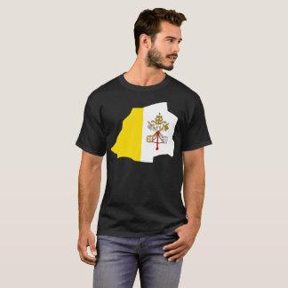 T-shirt da nação da Cidade do Vaticano Camiseta