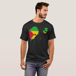 T-shirt da nação de Sao Tome and Principe Camiseta