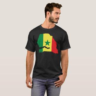 T-shirt da nação de Senegal Camiseta