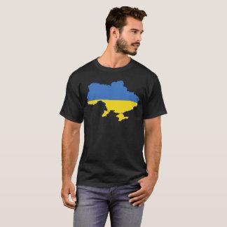 T-shirt da nação de Ucrânia Camiseta