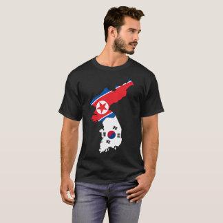 T-shirt da nação de United Korea Camiseta