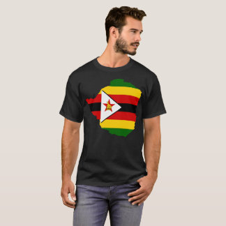 T-shirt da nação de Zimbabwe Camiseta