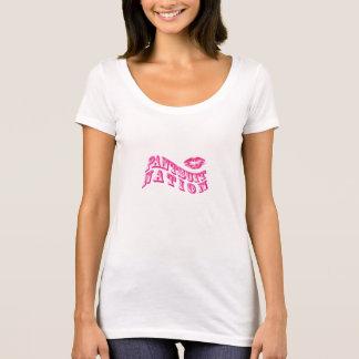T-shirt da nação do terno de cuecas camiseta