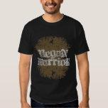 T-shirt da obscuridade do guerreiro do Vegan