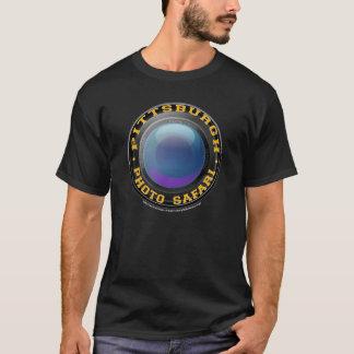 T-shirt da obscuridade do safari da foto de camiseta