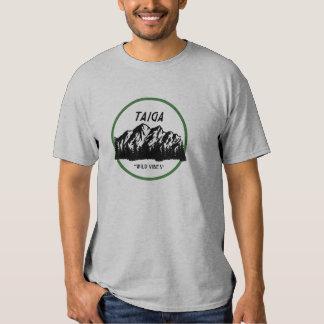 T-shirt da origem de Taiga