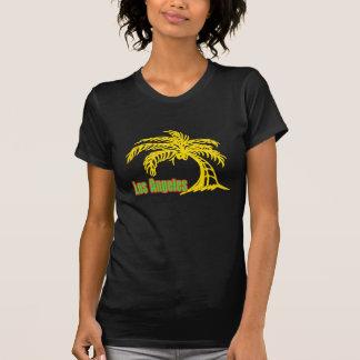 T-shirt da palmeira #2 de Los Angeles Camiseta