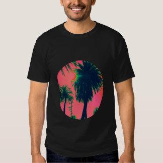 T-shirt da palmeira - preto