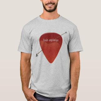T-shirt da picareta da guitarra camiseta