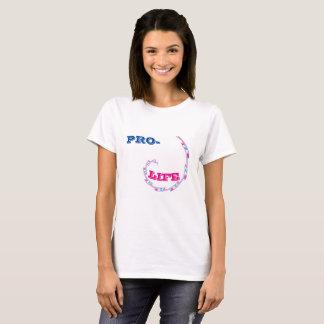 T-shirt da Pro-Vida Camiseta