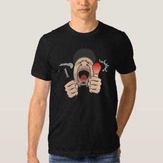 T-shirt da quebra do martelo