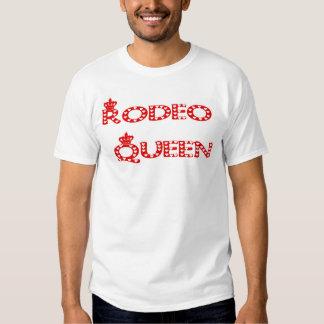 T-shirt da rainha do rodeio