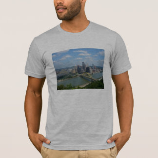 T-shirt da skyline de Pittsburgh Camiseta