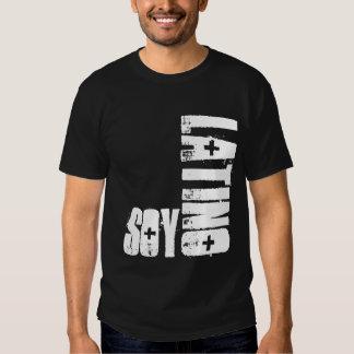 T-shirt da soja do Latino