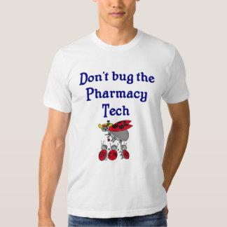 T-shirt da tecnologia da farmácia