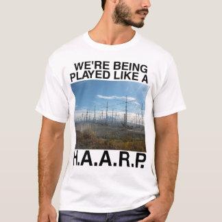 T-shirt da teoria de conspiração de HAARP Camiseta
