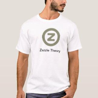 T-shirt da teoria de Zazzle Camiseta