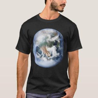 T-shirt da terra do planeta camiseta