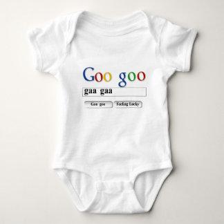 T-shirt da viscosidade da viscosidade body para bebê