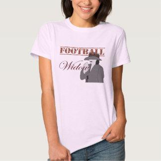 T-shirt da viúva do futebol