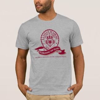T-shirt das cinzas da academia de Salle do La Camiseta