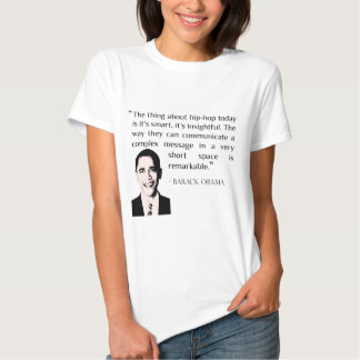 t-shirt das citações do hip-hop