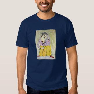 T-shirt das cores escuras do empacotador de