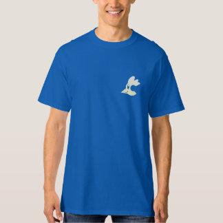 """T-shirt das galinhas da chaminé - """"relógio em camiseta"""