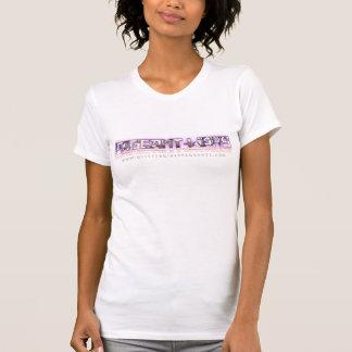 T-shirt das meninas do brilho do t-shirt das guerr