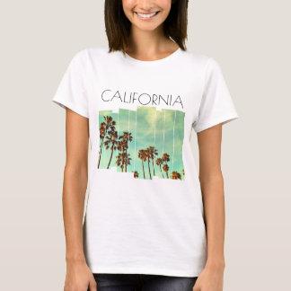 T-shirt das palmeiras de Califórnia Camiseta