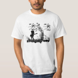 T-shirt das produções do montagem da edição camiseta