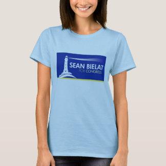 T-shirt das senhoras camiseta