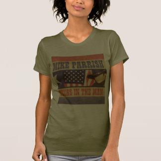 T-shirt das senhoras Camo (cabido)