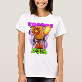 T-shirt das senhoras da boneca do Voodoo Camiseta