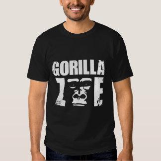 T-shirt das senhoras de Zoe do gorila